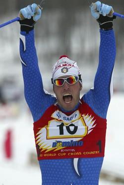 Renato Pasini Atleta, sci nordico