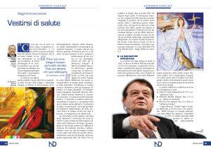 """""""Vestirsi di Salute"""" il nuovo articolo del Prof. Dott. Massimo Enrico Radaelli"""